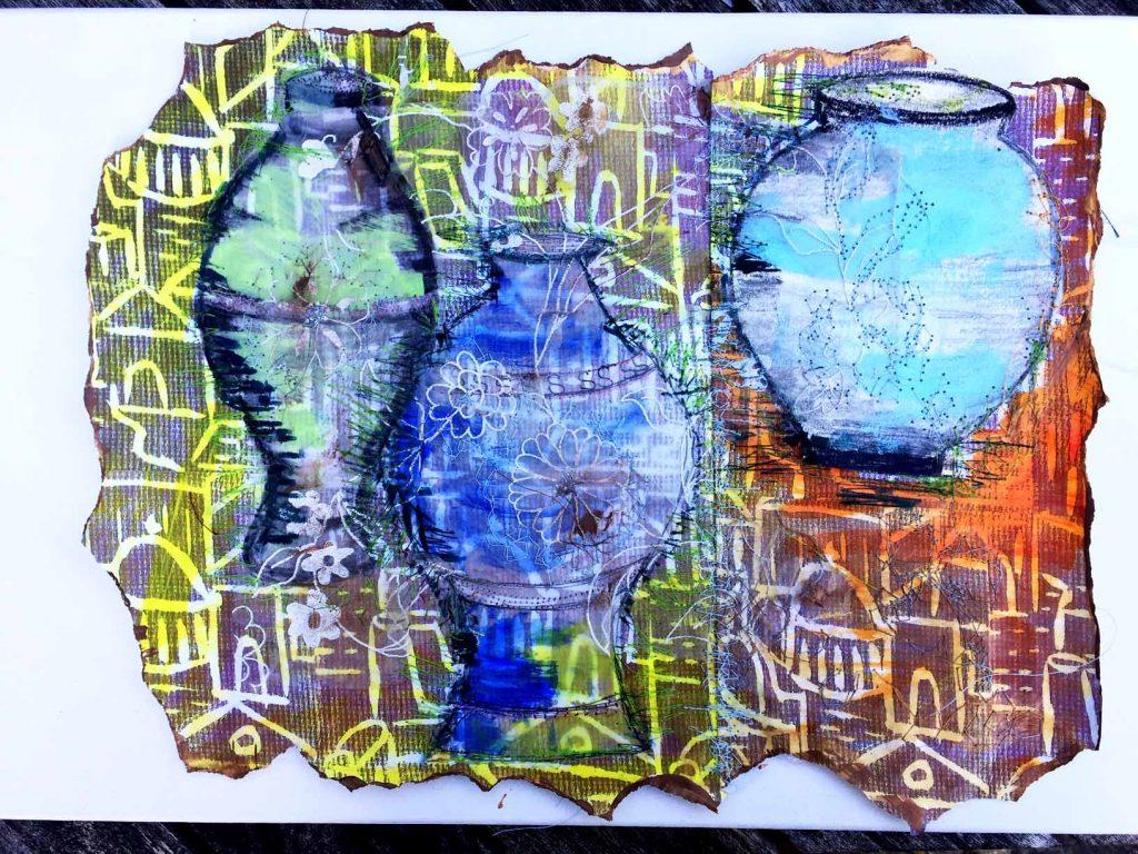 Ann S blue jugs 1