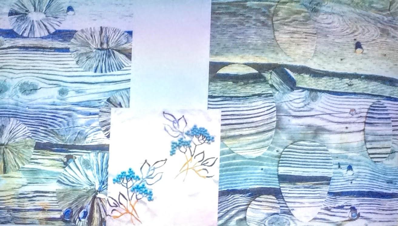 blue wood like image