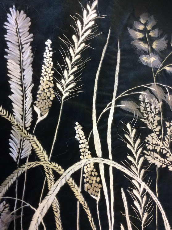 grasses on table