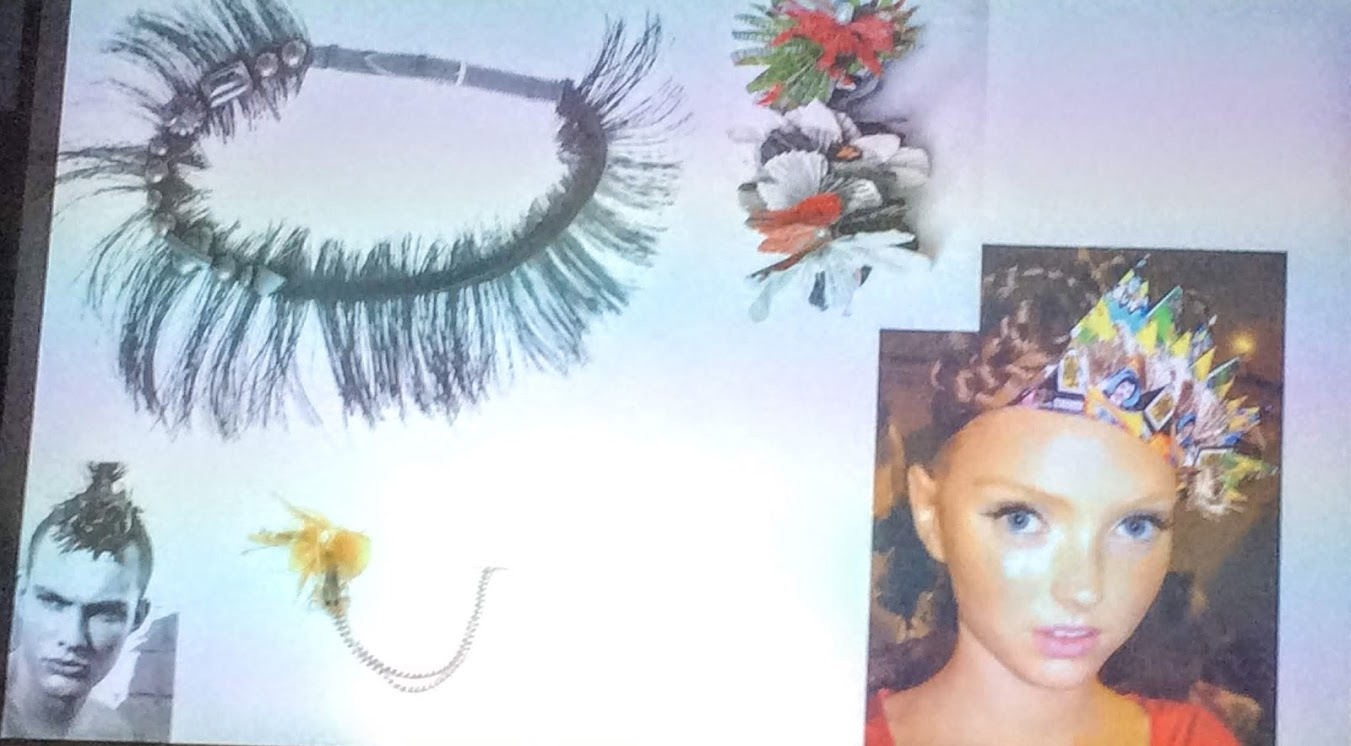 horse hair neck piece and other