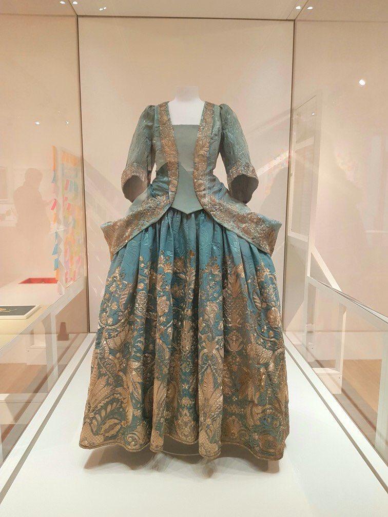 lady rachel morgan s silk damask dress