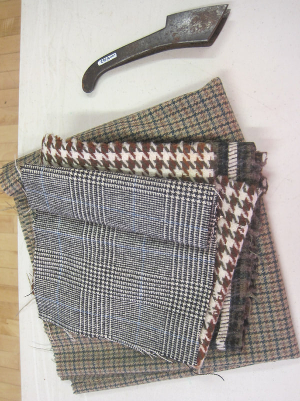 selection of woolen cloth