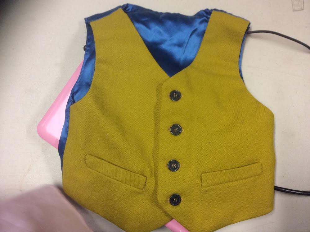 sewing bee waistcoat