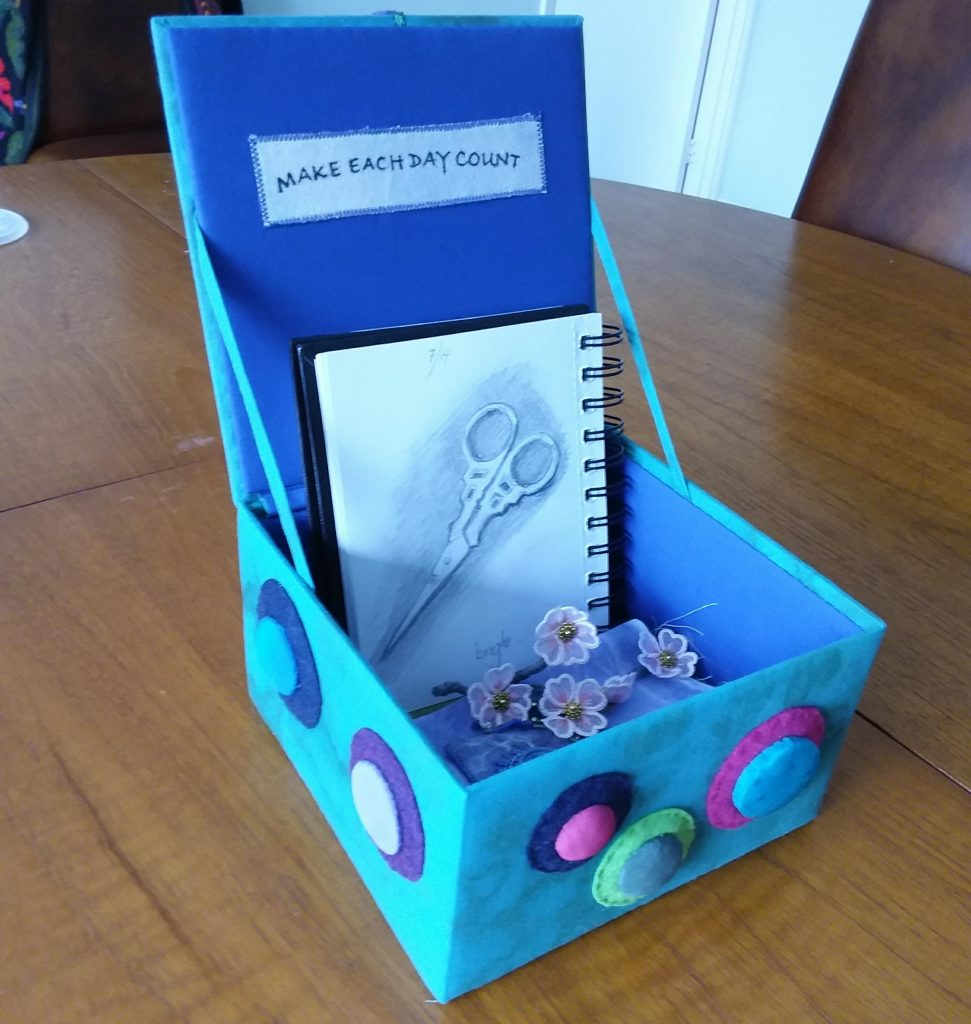 Judy J box vessel challenge 1