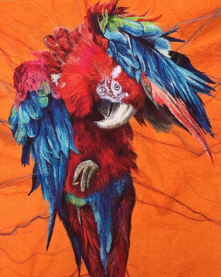 Suzy Wright Parrot